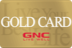 GNC Gold Card
